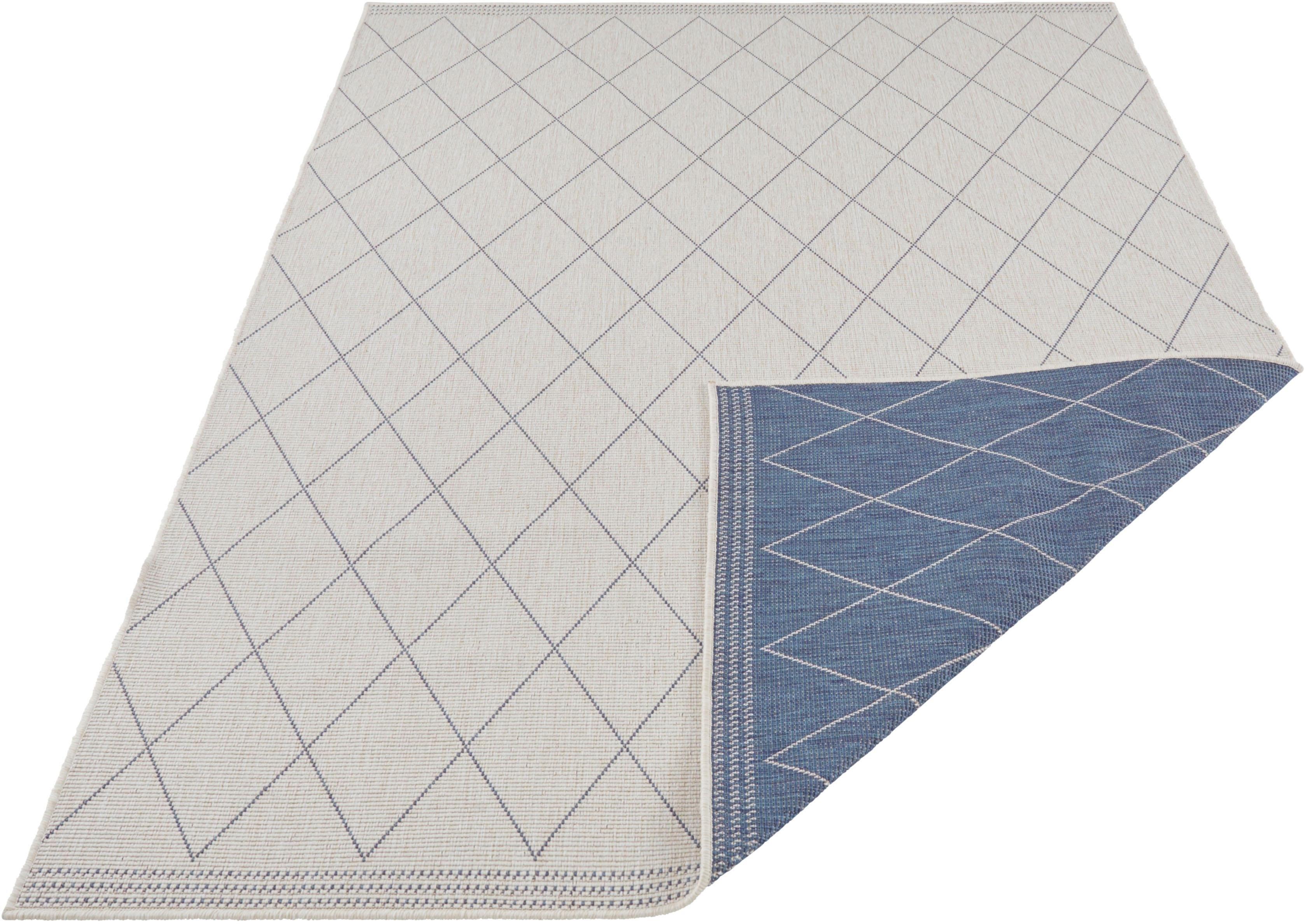 Freundin Home Collection Vloerkleed, »Daisy«, rechthoekig, hoogte 5 mm, machinaal geweven bestellen: 14 dagen bedenktijd