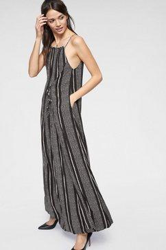 herrlicher maxi-jurk »ellinor« zwart