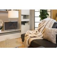 star home textil deken poolvos bijzonder zacht wit