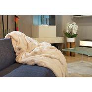 deken »merino«, star home textil wit