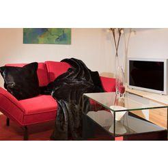 deken »puma«, star home textil zwart