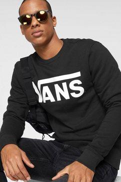 vans sweatshirt »vans classic crew ii« zwart