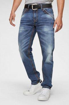 cipo  baxx loose fit jeans blauw