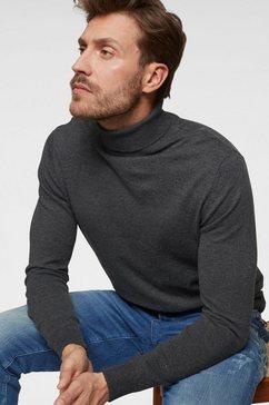 jack  jones coltrui »emil knit roll« grijs