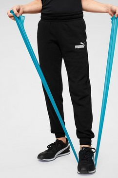 puma joggingbroek »essential logo sweat pants tr cl boys« zwart