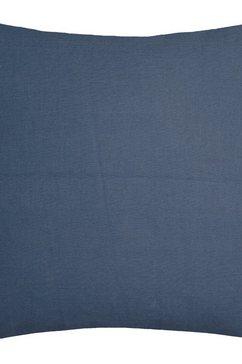 kussenovertrek, »punto«, schoener wohnen kollektion blauw
