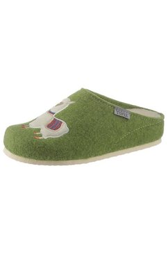 tofee pantoffels groen