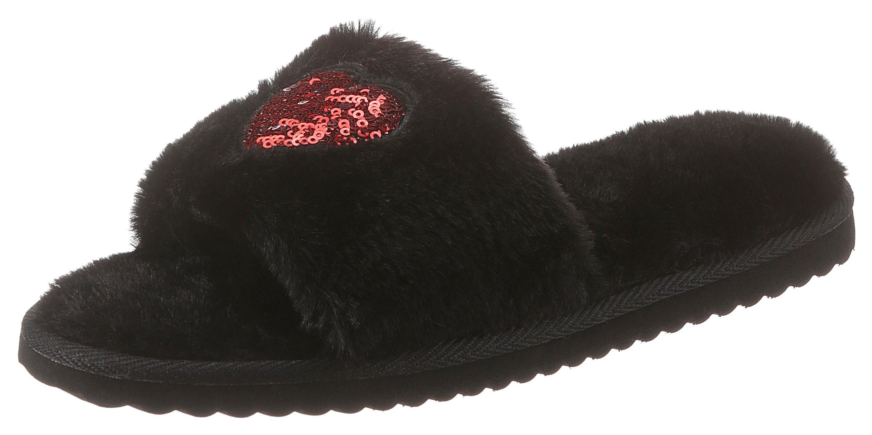 City Walk pluche pantoffels in de webshop van OTTO kopen