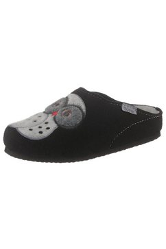 tofee pantoffels zwart