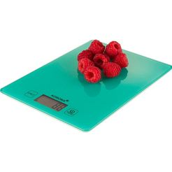 korona keukenweegschaal esther digitaal met extra tarrafunctie groen