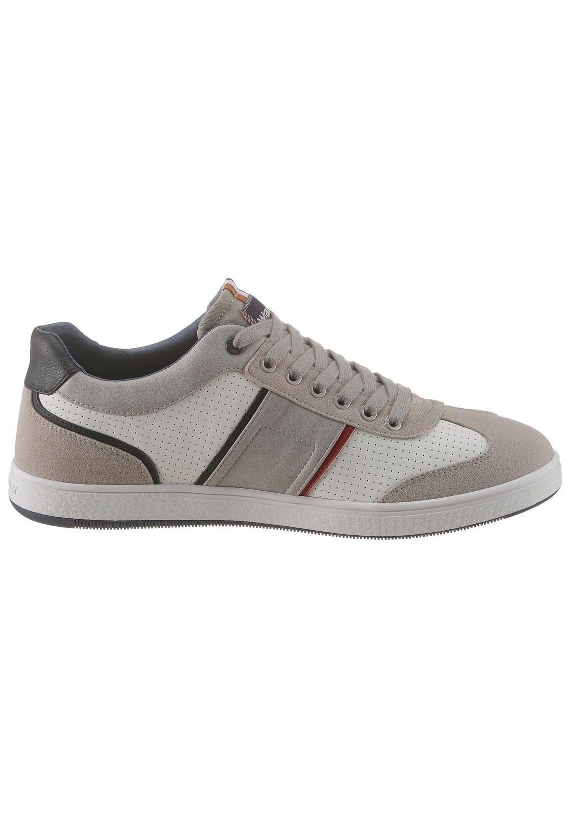 Wrangler sneakers  Marshall Swallow makkelijk besteld  wit/grijs