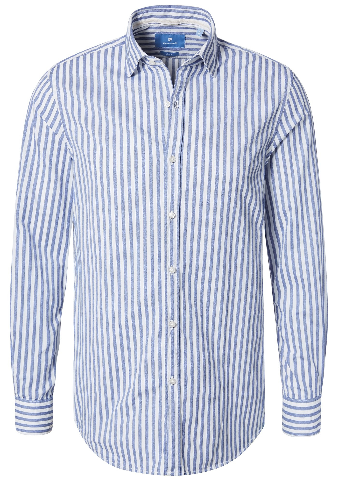 Slim Fit Wit Overhemd.Pierre Cardin Overhemd Met Strepen Slim Fit Online Bestellen Otto