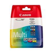 canon inktpatroon cli-526 c-m-y originele combi-set multicolor