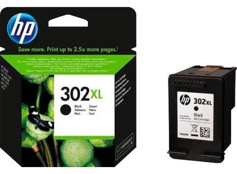 HP HP 302XL ink cartridge black (F6U68AE#UUS)