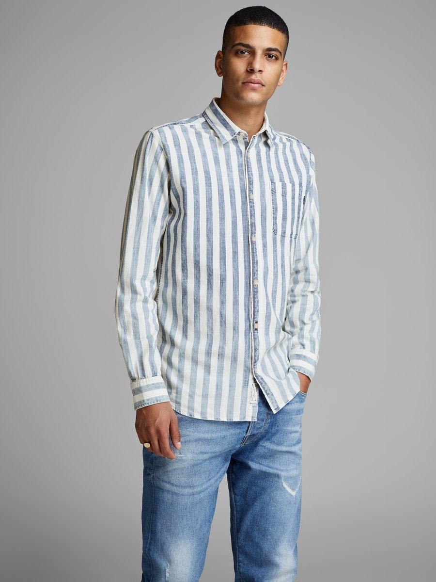 Gestreept Overhemd.Jack Jones Gestreept Overhemd Online Shoppen Otto