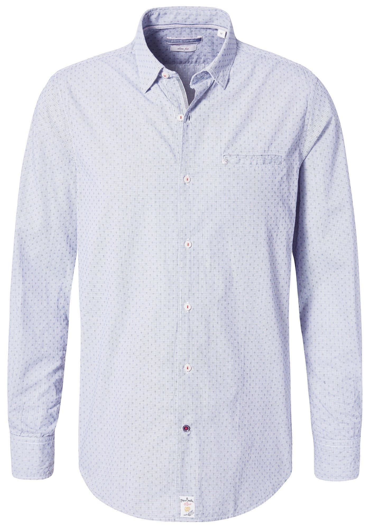 Pierre Cardin Overhemd met mini-ruit - slim fit in de webshop van OTTO kopen