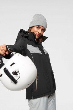killtec ski-jack »rista« zwart