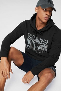 chiemsee hoodie zwart