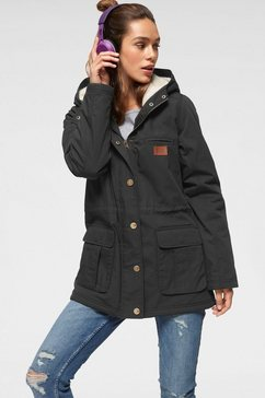 billabong parka »facility« zwart