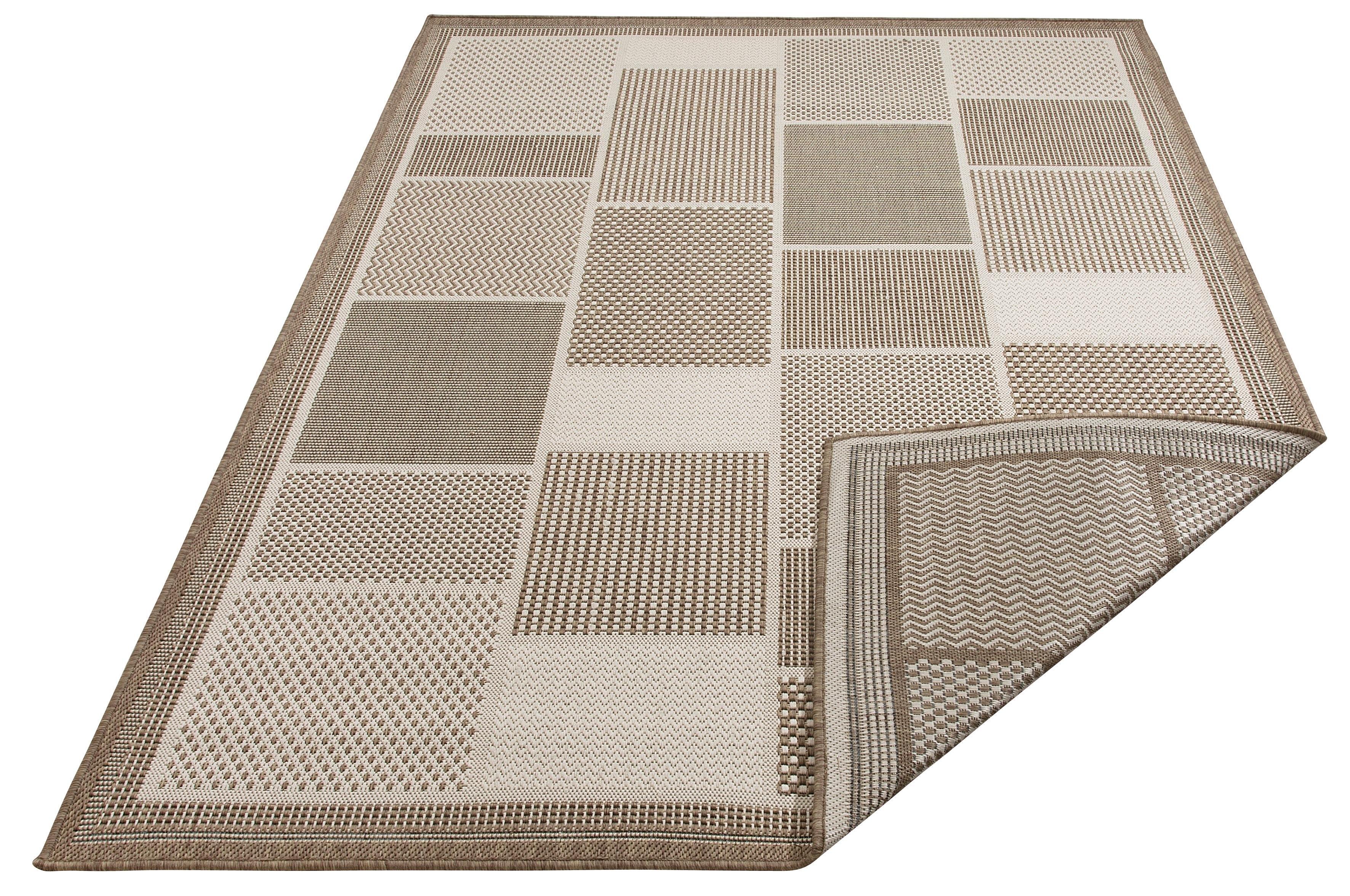 Home affaire Outdoorkleed, »Tudor«, rechthoekig, hoogte 5 mm, machinaal geweven bij OTTO online kopen