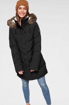 roxy gewatteerde jas »ellie jk« zwart