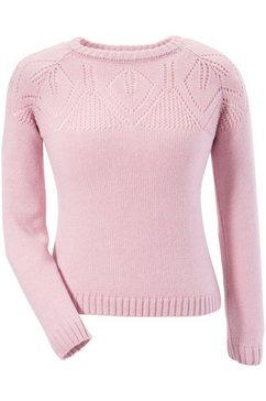 moser folklore-damestrui in zacht tricotkwaliteit roze