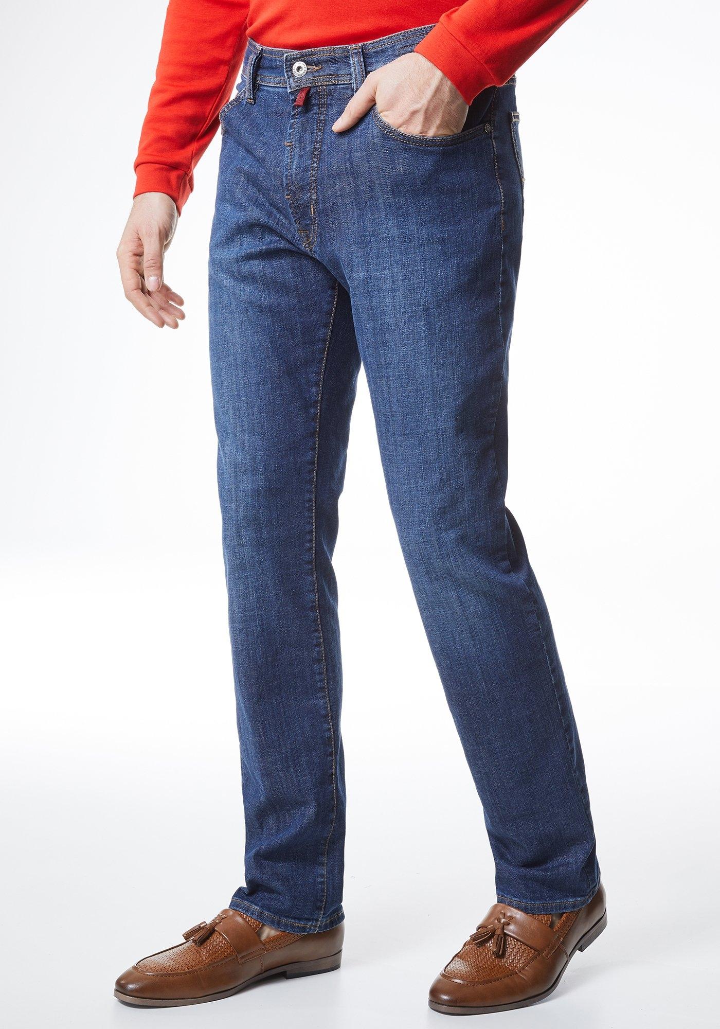 Pierre Cardin Basic Jeans - regular fit »Deauville« in de webshop van OTTO kopen