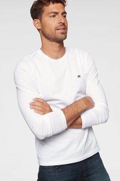napapijri shirt met lange mouwen wit