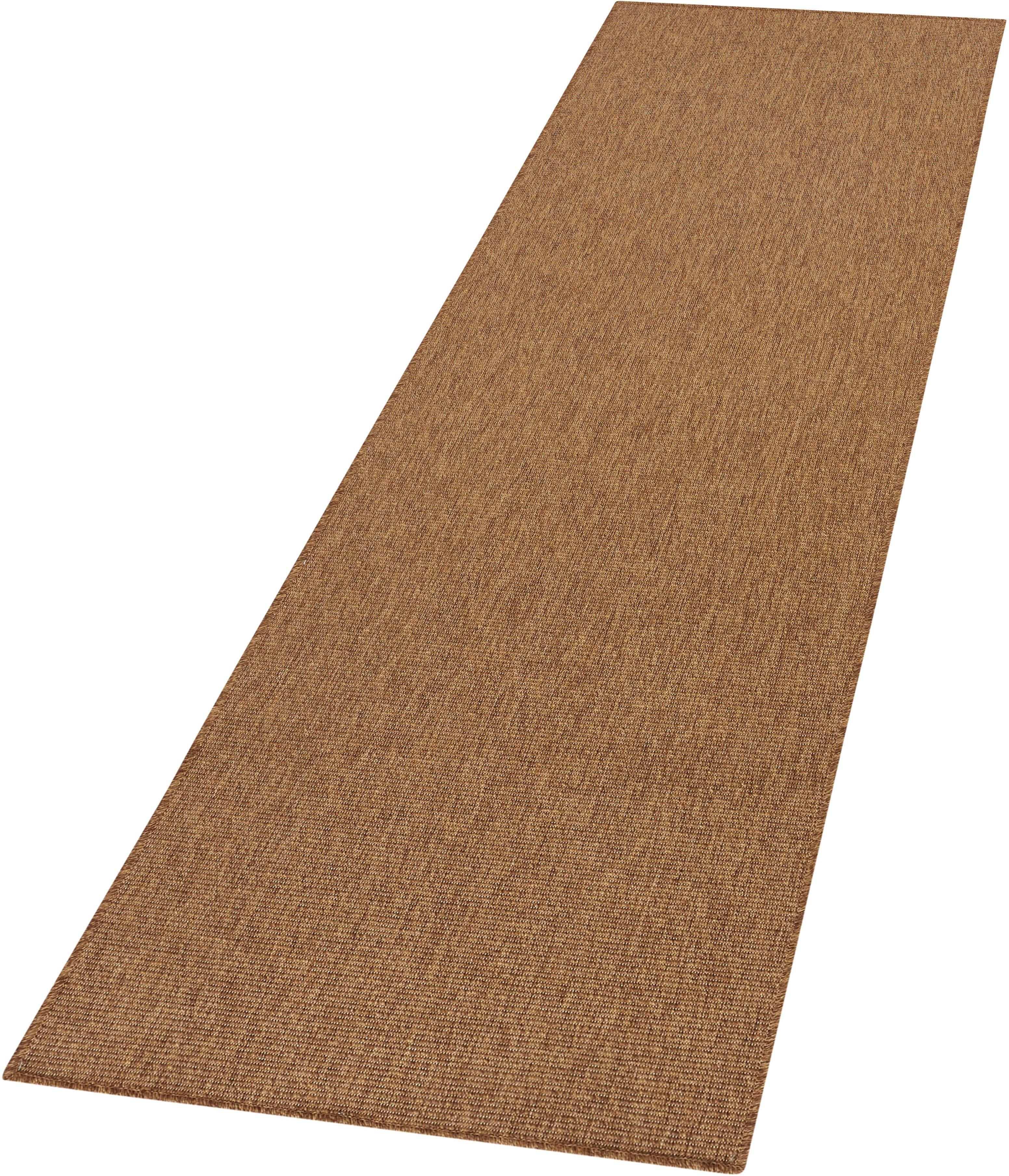 Bt Carpet Loper, »Nature«, rechthoekig, hoogte 5 mm, machinaal geweven - verschillende betaalmethodes