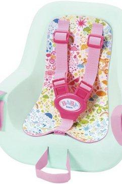 zapf creation poppenaccessoires, »baby born play  fun fietsstoeltje« multicolor