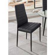stoel »sandy« (set van 2 of 4) zwart