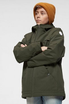 quiksilver parka »waiting period youth« groen