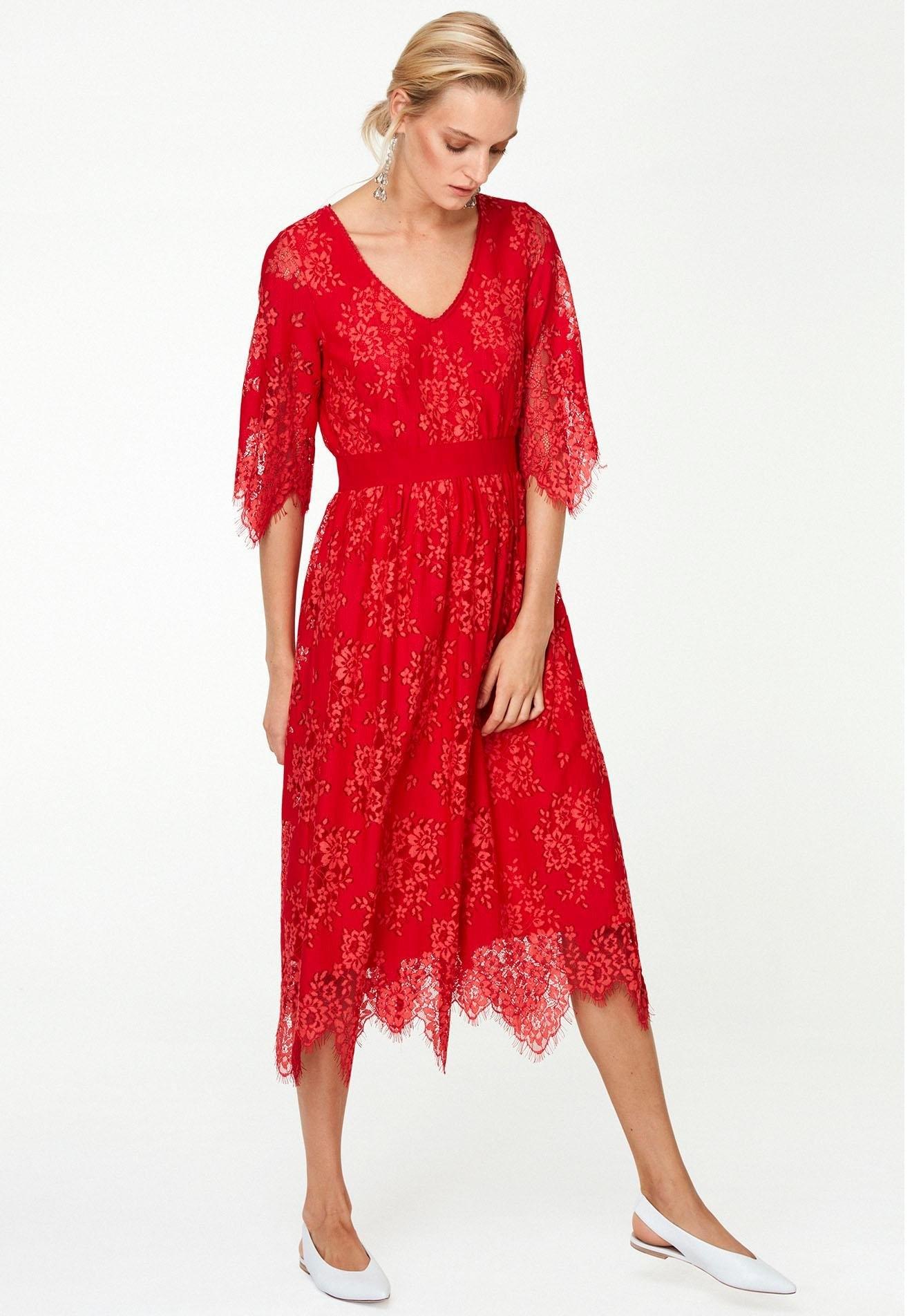 Laurèl kanten jurk bestellen: 14 dagen bedenktijd