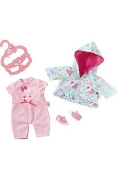 zapf creation poppenkleding 'baby annabell kleine speeloutfit' roze