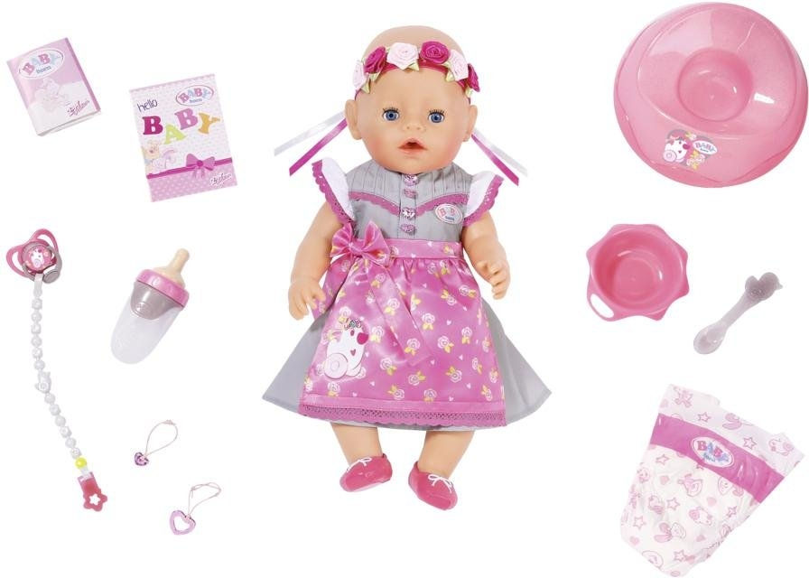 Op zoek naar een Baby Born Zapf Creation® babypop 'BABY born® SoftTouch Girl Dirndl Edition, 43 cm'? Koop online bij OTTO