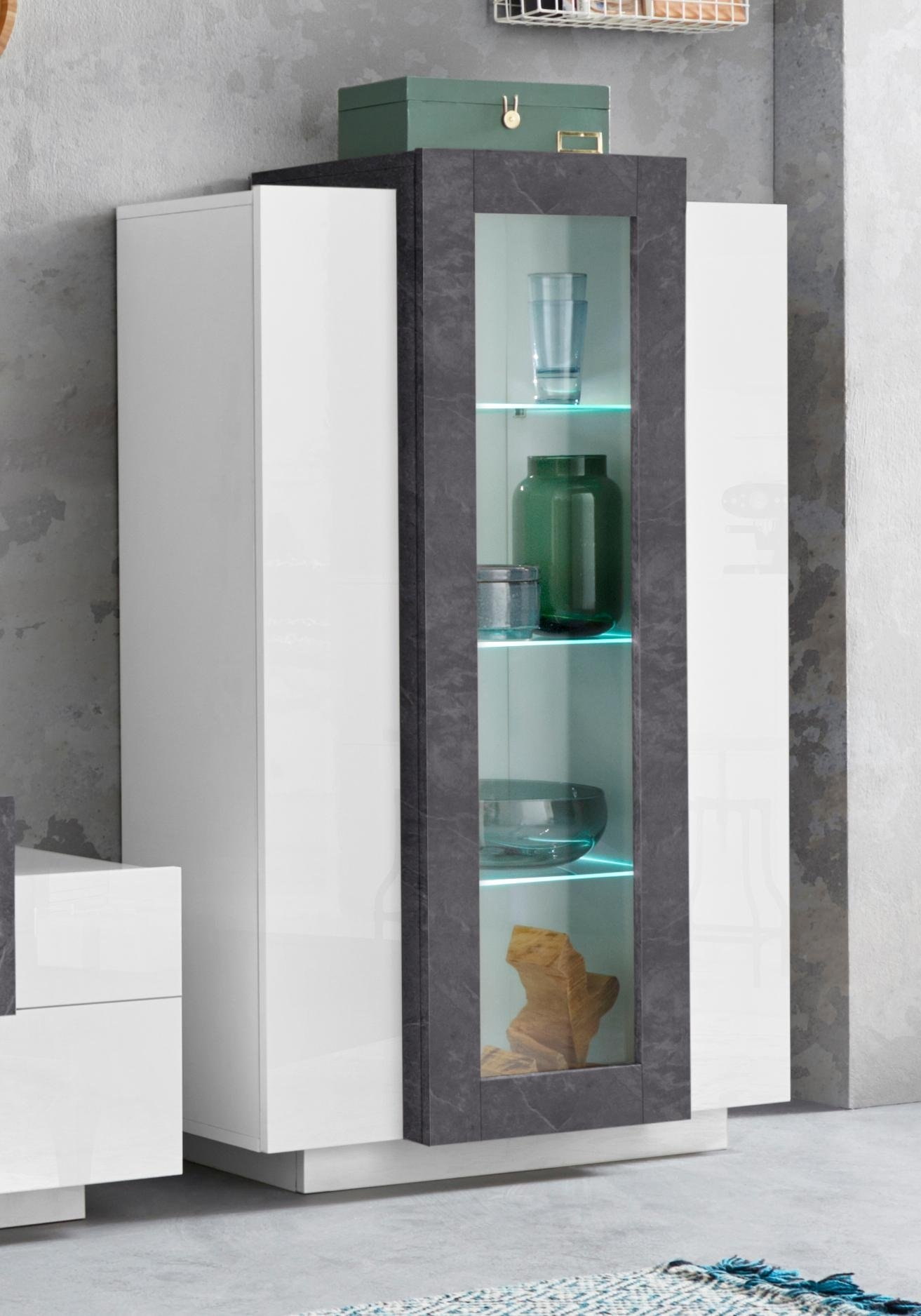 Tecnos vitrinekast »Corona« , hoogte 120, 5 cm voordelig en veilig online kopen