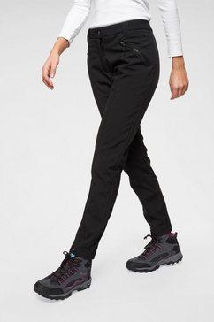 cmp softshell-broek schwarz