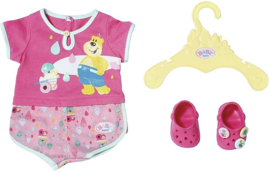 Baby Born Zapf Creation® poppenkleding 'BABY born® Bath pyjama & clogs' in de webshop van OTTO kopen