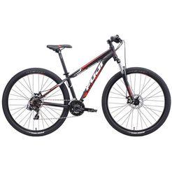 fuji bikes mountainbike nevada 3.0 le - 27,5 - 29 inch zwart