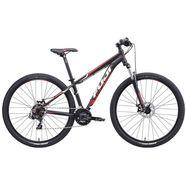 fuji bikes mountainbike »nevada 3.0 le - 27,5 - 29 zoll«, 21 gang shimano rd-ty500 schaltwerk, kettenschaltung zwart