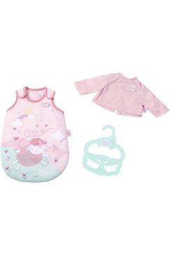 zapf creation poppenkleding 'baby annabell slaapzak' roze