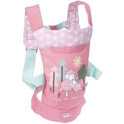 zapf creation poppenaccessoires, »baby annabell travel draagzak« roze