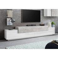 tecnos tv-meubel »corona«, breedte 240 cm grijs