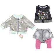 zapf creation poppenkleding, »baby born city outfit« multicolor