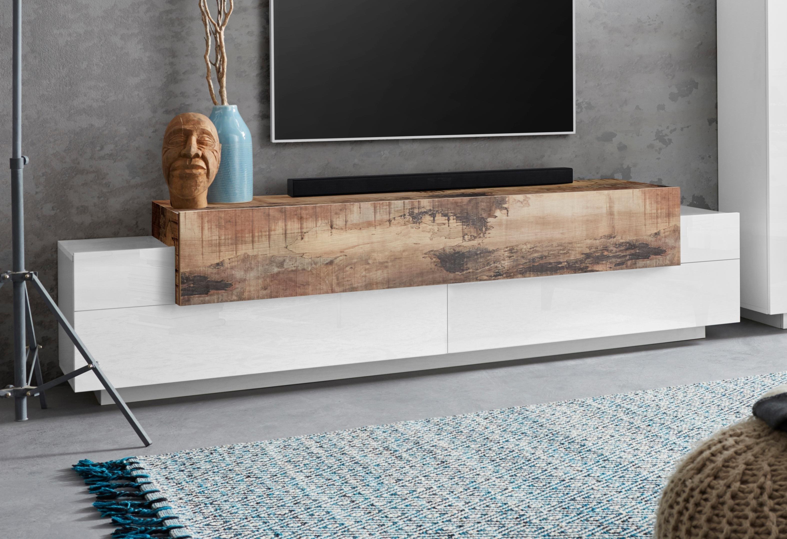 Tecnos tv-meubel Coro Breedte 200 cm bij OTTO online kopen
