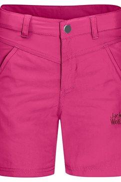 jack wolfskin short »sun shorts k« roze