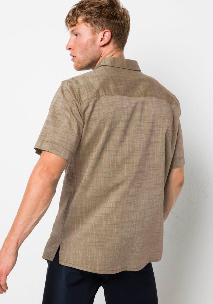 Jack Wolfskin Overhemd Met Korte Mouwen Emerald Lake Shirt M Online Verkrijgbaar - Geweldige Prijs