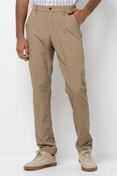 jack wolfskin outdoorbroek »desert valley pants men« beige