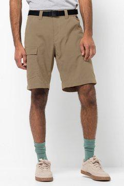 jack wolfskin functionele short hoggar shorts beige