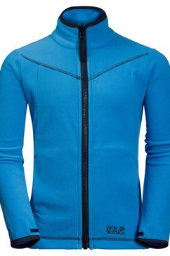 jack wolfskin fleecejack »sandpiper jacket kids« blauw